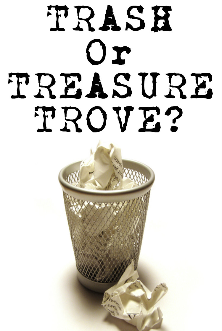 TRASH OR TREASURE -Paladin Investigators share why ones mans trash is another mans treasure. Why your rubbish could help your next investigation, divorce, or court case.