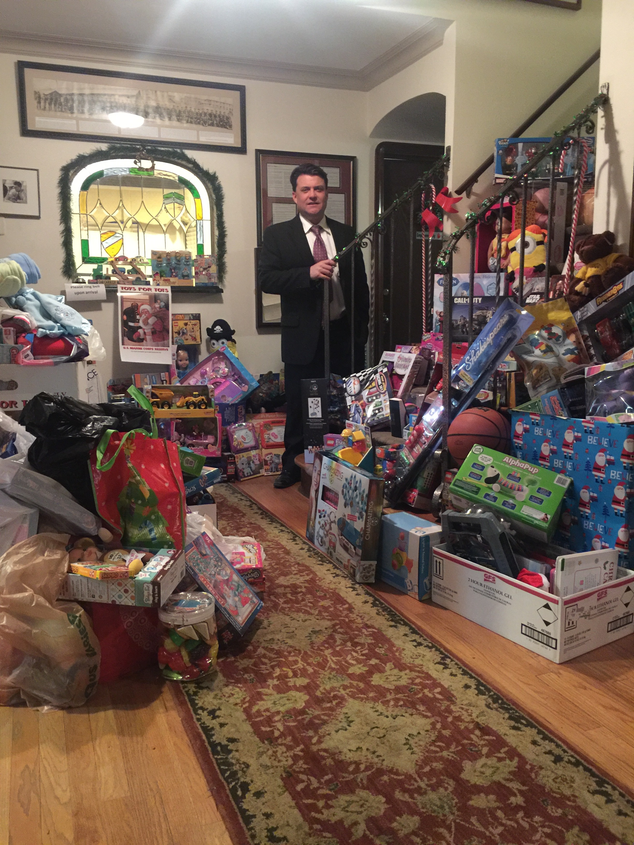 Lets Make A Difference Together; Corriveau Law Presents Toys For Tots - Toys for Tots offers a simple solution for even the busiest American.